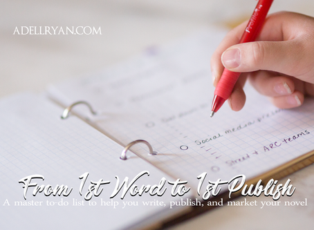 From 1st Word to 1st Publish