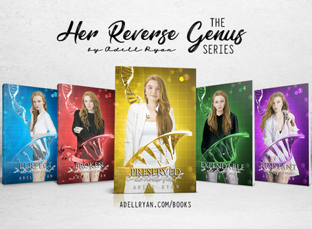 Completed Series Alert: Her Reverse Genus by Adell Ryan