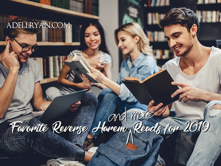 Favorite Reverse Harem [and more] Reads for 2019