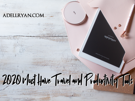 The Travel Author - 2020 Must-Have Travel and Productivity Tools