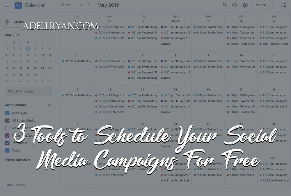 Free Post Scheduling