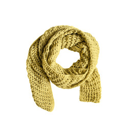 Yellow Knitted Scarf