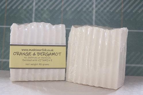 Orange & Bergamot Soap Bar