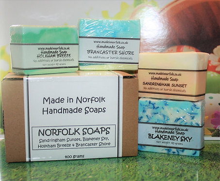GIFT BOXED NORFOLK SOAP