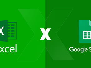 Qual a diferença entre Microsoft Excel e o Google Planilhas?