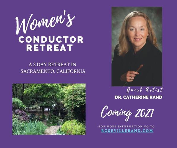 Women's Conductor Retreat