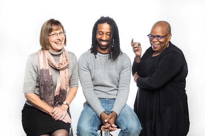 MôD Artists Maquette Kuper, Omari Tau, and Deborah Pittman