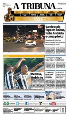 A Tribuna (Robinho, Santos)