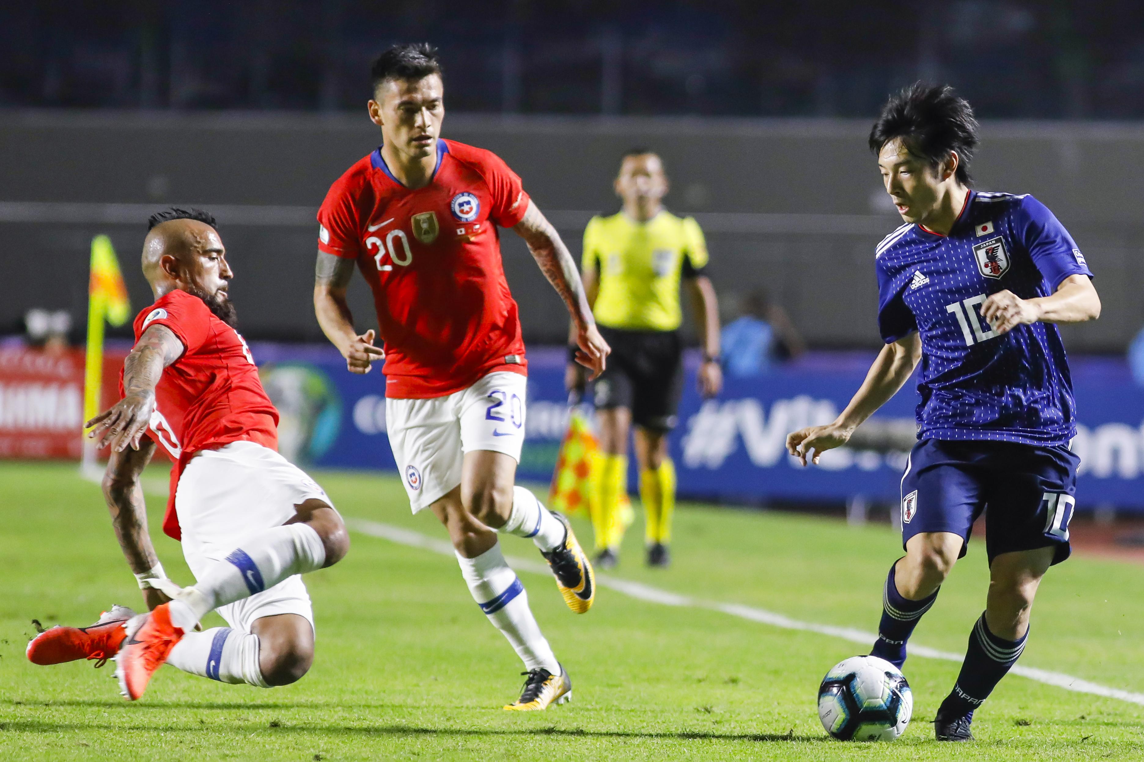 Chile x Japão