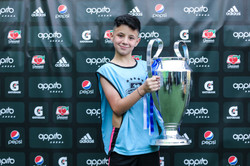 Aniversário de futebol na Arena Appito