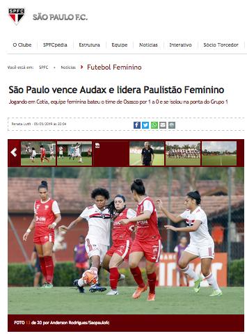SPFC Feminino