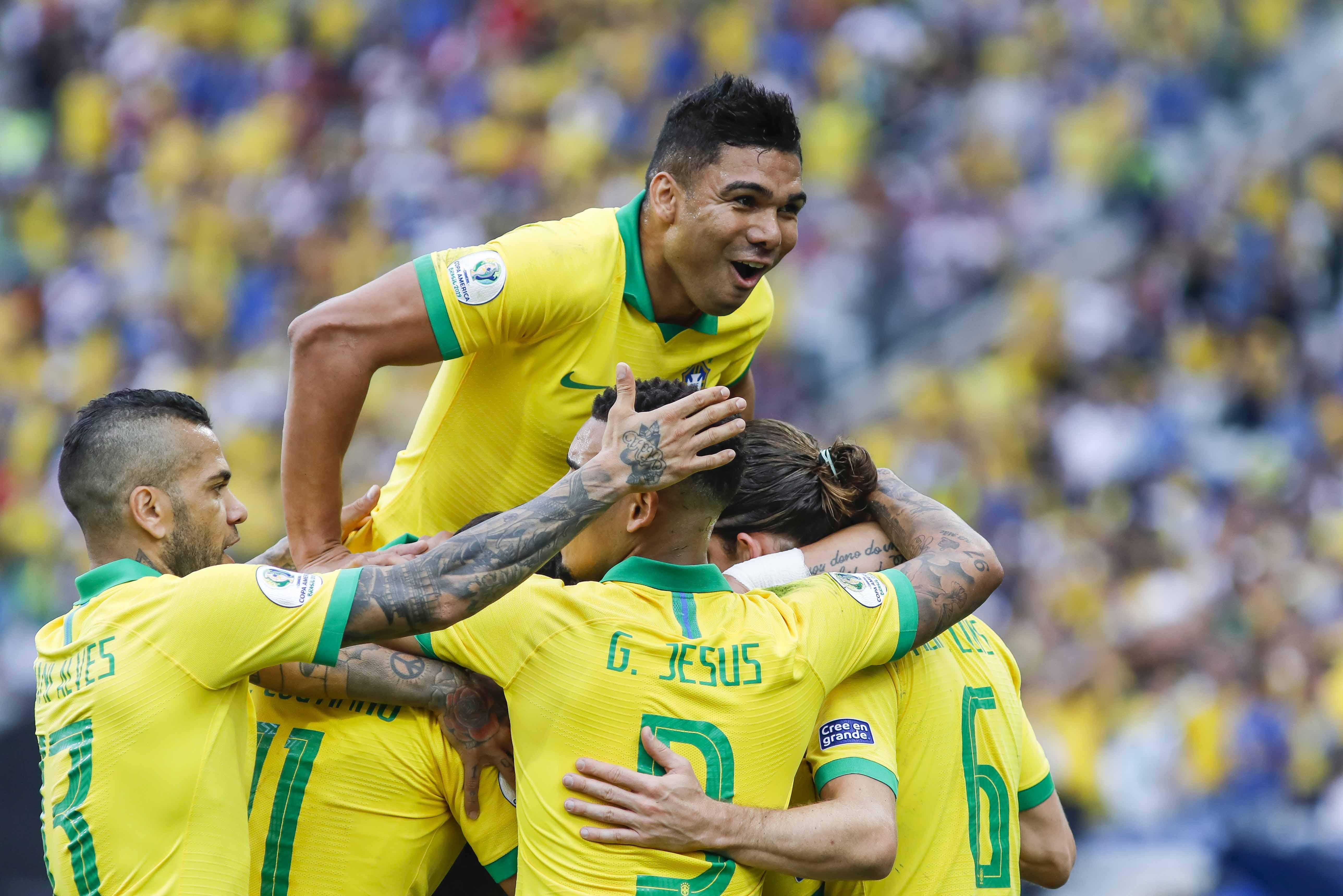 Brasil x Peru