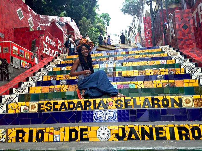 Invisible Stepping Stones (Gladys in Rio)