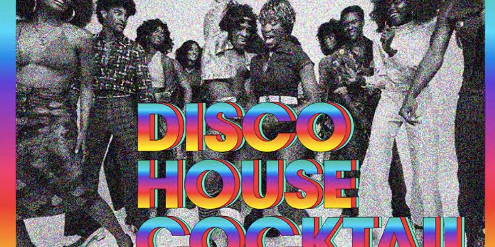 Disco House cocktail avec Iron Curtis & Mars