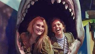 """Jaws"" Selfie Station"