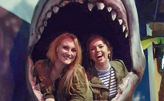 """Jaws"" Selfie Station"