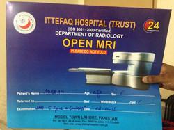Muskan's MRI