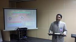 Brother Faraz speaking at Seminar