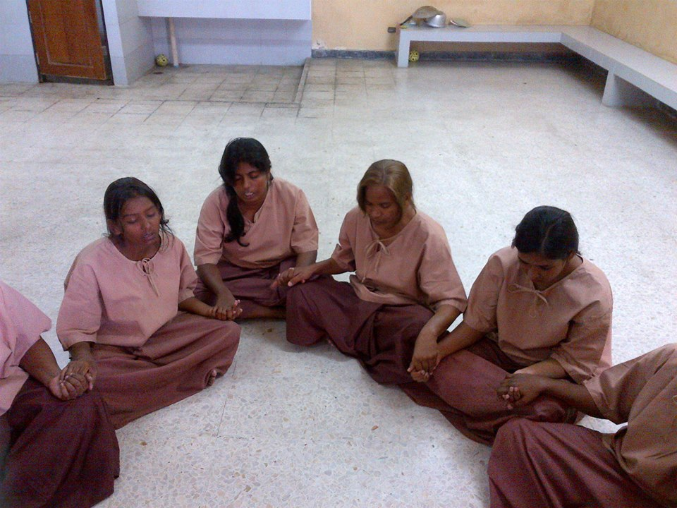 Women Asylum Seekers Praying