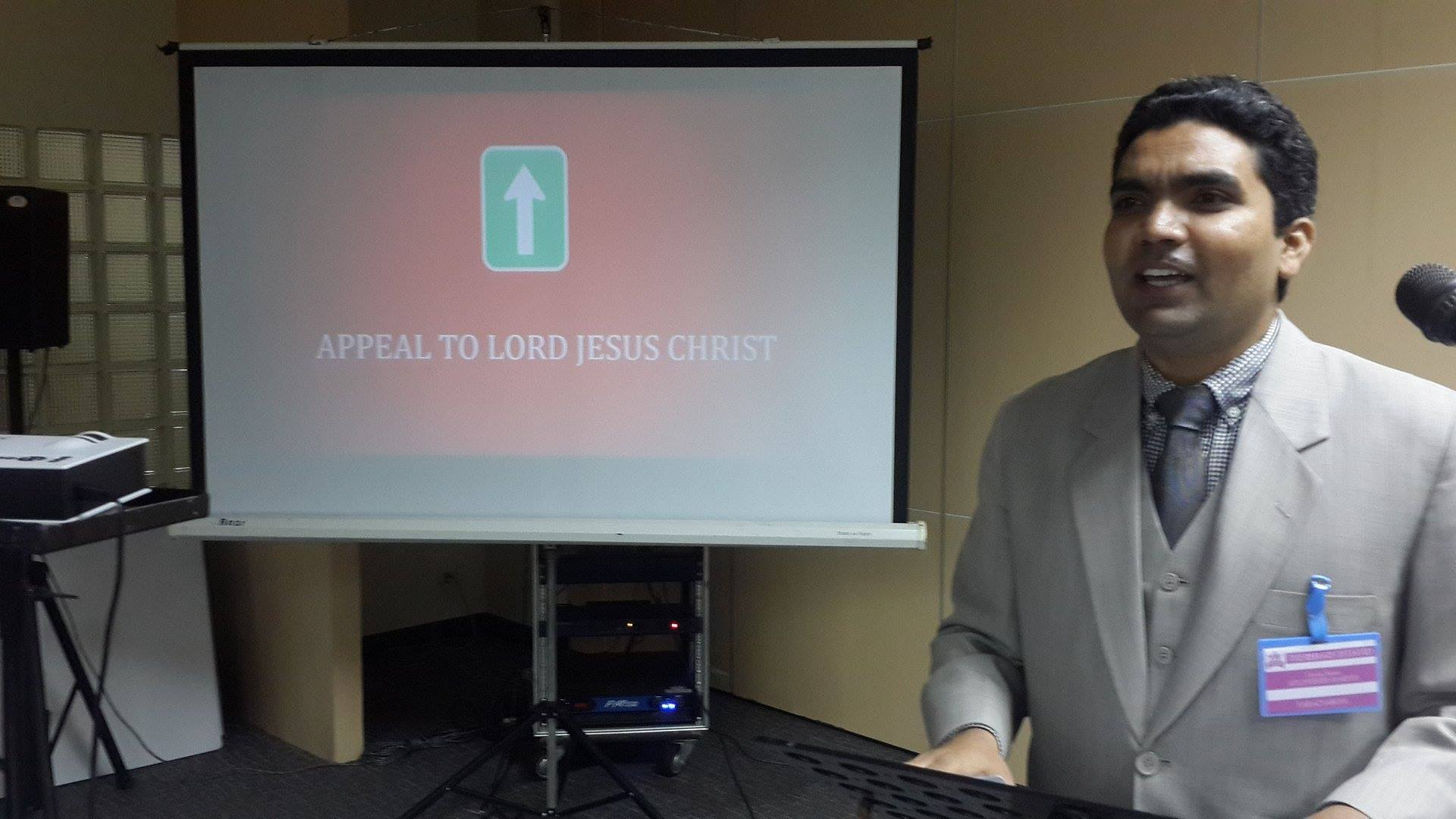 Appeal to the Lord Jesus Christ