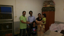 Family from Pakistan now in Bangkok
