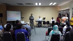 Faraz at Asylum Seeker Seminar
