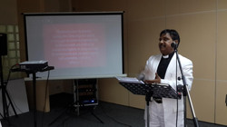 Anwar Shahzad speaking at Seminar