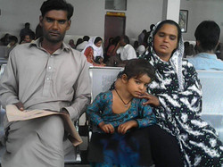 Muskan at hospital