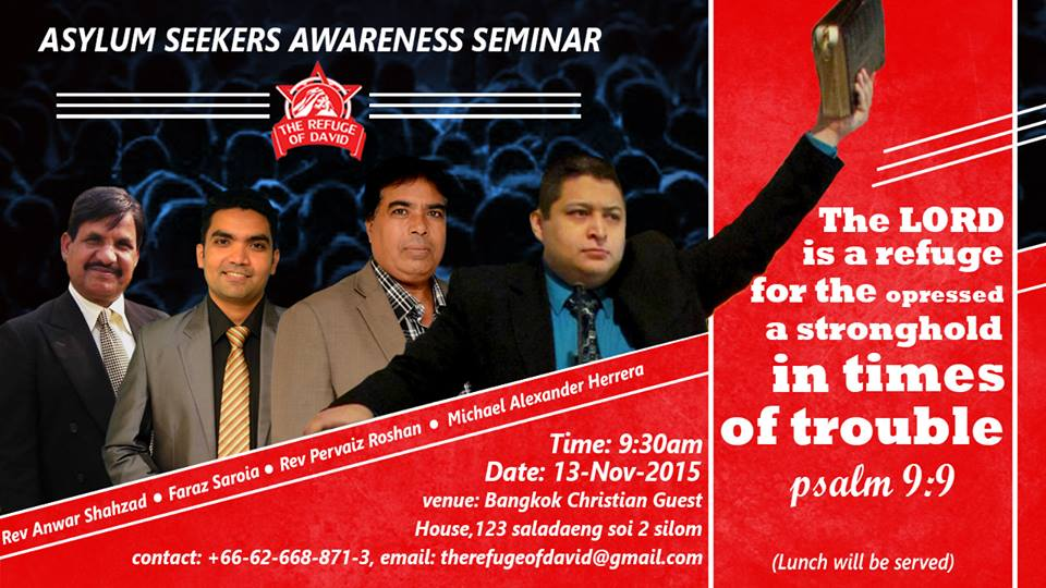 Asylum Seeker Awareness Seminar