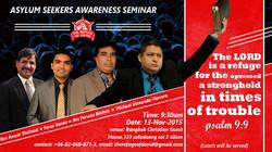 Asylum Seeker Awareness Seminar