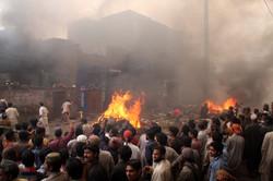 200 christian houses set on Fire
