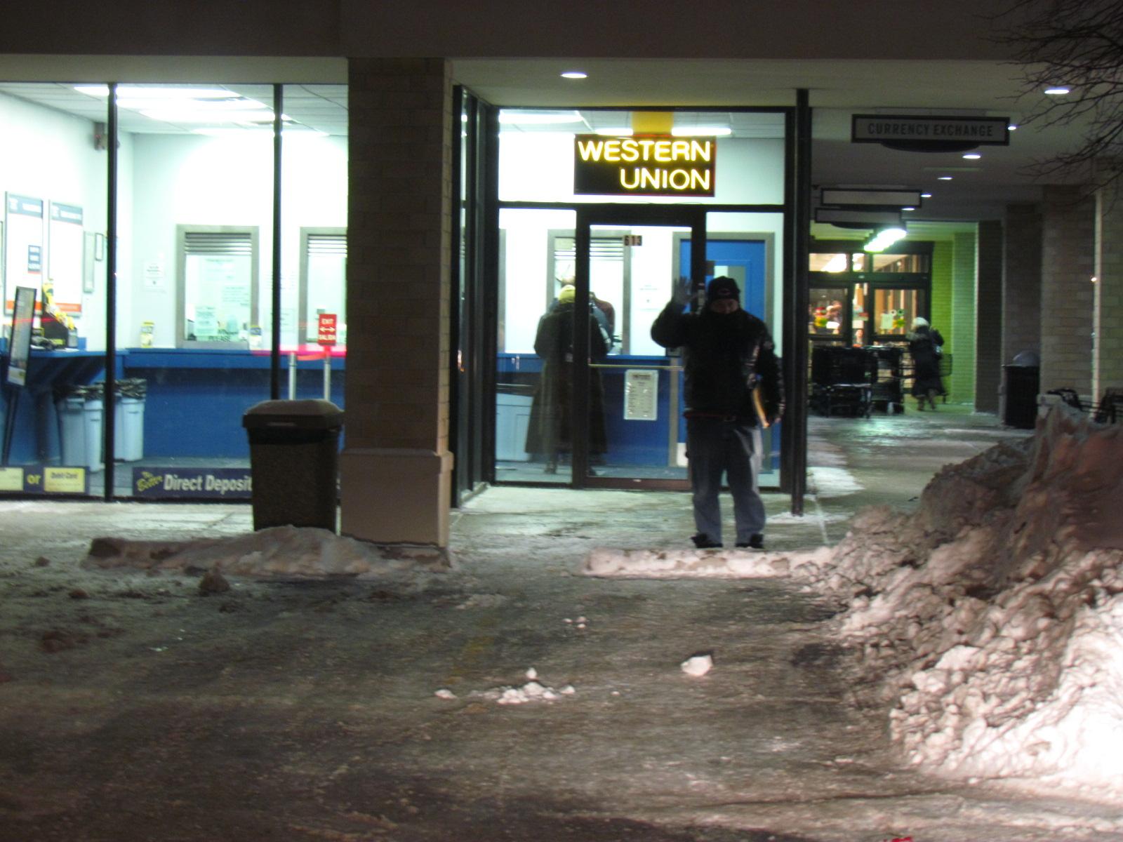 Entering Western Union