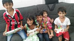 Children of arrested parents