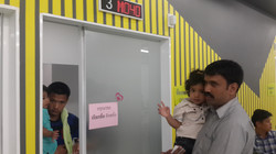 Jemimah at hospital