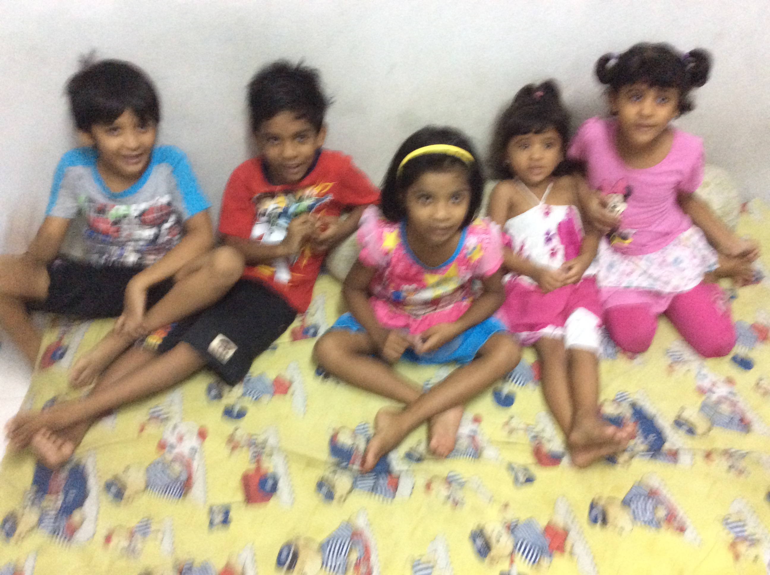 Little Children in Bangkok