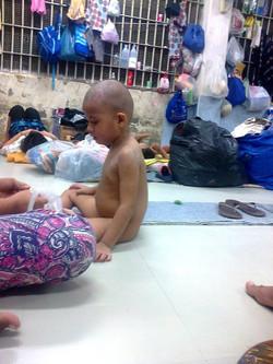 Child at IDC in Bangkok, Thailand