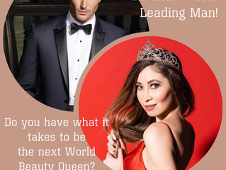 Search is ON for the next World Leading Man!!!