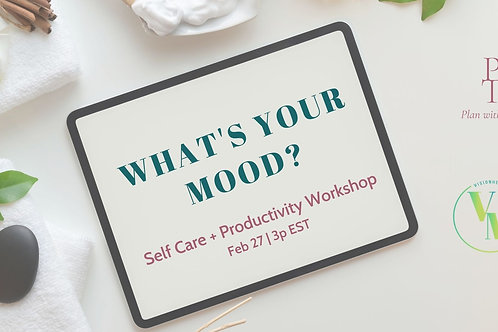 Self Care and Productivity BUNDLE