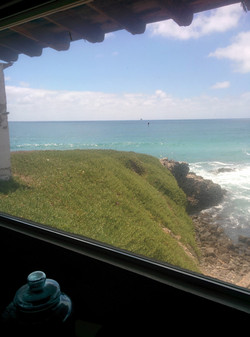 Ocean View from our Patients area