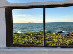 Ocean view from Outside our Center