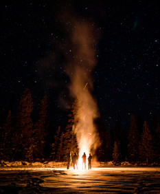 Bonfire On the Lake.JPG