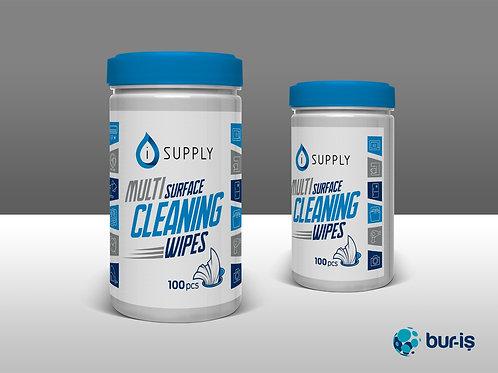 Multi Surface Sanitizing Wipes