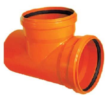 Ramificaţie PVC la 87° SN4 (KGEA)