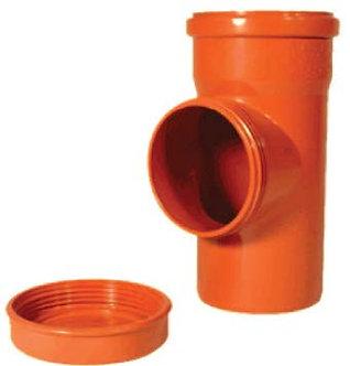 Piesă de curățire PVC SN4 (KGRE)