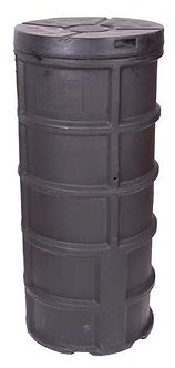 Cămin apometru PE - D500mm, H1200mm - echipat și neechipat