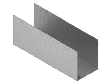 PROFILE METALICE UW 100X50X100, 1MM NIDA METAL