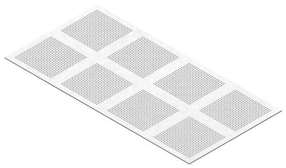 PLACA GIPS-CARTON PERFORATA PREGYBEL C10 N8