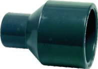 Niplu redus PVC presiune - lipire