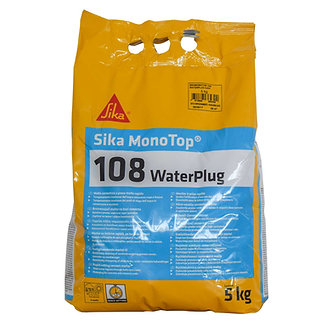 Mortar de stopare a infiltratiilor de apa, Sika MonoTop 108 WaterPlug, 5 kg