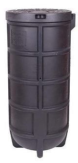 Cămin apometru PE - D500mm, H1200mm echipat și neechipat - CU CAPAC ANTI-EFRACȚI